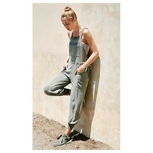Free People Movement overalls jumpsuit joggers M